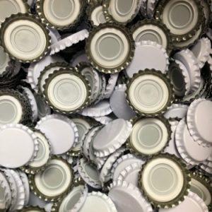 capsules couronne bière vrac blanc