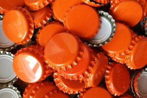 lot capsule couronne orange