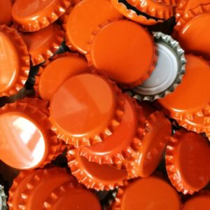 lot capsule couronne orange