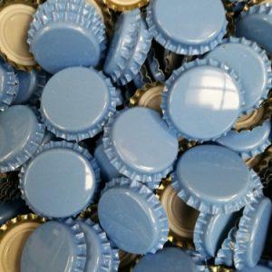 capsules diamètre 26 bleu clair