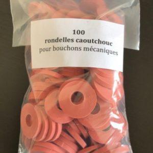 rondelle bouchon mécanique lot de 100 face emballage