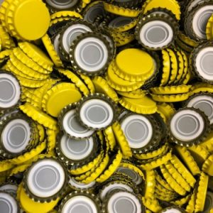 capsule couronne vrac jaune