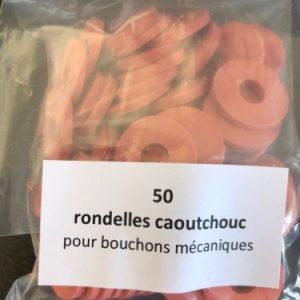 rondelle bouchon mécanique lot de 50 face emballage